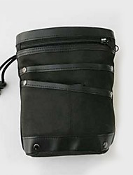 Women Nylon Outdoor Waist Bag Green / Black