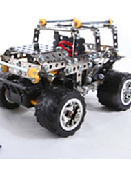 Metal building blocks assembled remote control cars