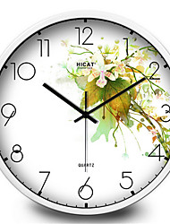 Garden Hammer Bedroom Mute Quartz Wall Clock