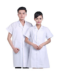 Short-Sleeved White Coats For Men And Women Serving Doctors Lab Coat Nurse Hospital Medical Beauty Service