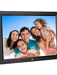 17 inch Digital Picture Frame 1440*900 USB 2.0 with Clock/Music&Movie Play Support 14 Country Languages