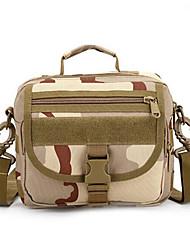 8 L Sac à bandoulière Camping & Randonnée Extérieur Etanche / Multifonctionnel Camouflage Nylon