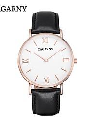 relógio / moda / relógio simples / relógio aluno / Japão quartzo / relógio casual homens cagarny