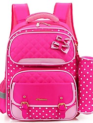 Women Nylon Casual Backpack Pink / Purple / Blue / Fuchsia