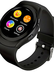 Bluetooth smartwatch mtk2502c ips écran carte SIM écouteur moniteur horloge pour apple iphone ios android