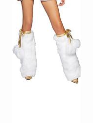 Women Warm Stockings,Velvet / Acrylic / Polyester