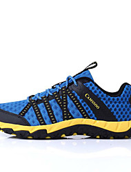 Camssoo Men's Hiking Mountaineer Shoes Spring / Summer / Autumn / Winter Damping / Wearable Shoes Dark Blue 40-44
