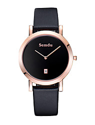 Semdu® Fashion Leather Vintage Casual Business Men Wristwatch  Waterproof Quartz Watch Fashion Watch Cool Watch