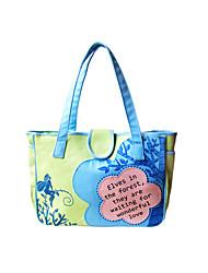 Flower Princess® Women Canvas Tote Green-A20111093