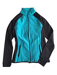 Course Survêtement Femme Manches longues Garder au chaud Course Sportif Vêtements de sport Blanc / Noir / Bleu / Violet