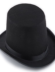 Black Hat Magician Magic Cap Hat Hat Jazz Hat Halloween Prop