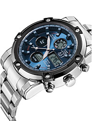 ASJ Luxury Famous Sports Waterproof Wristwatches Men's Watch Dual Time Outdoor Electronics
