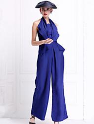 To My Fair Lady® Women's Halter Sleeveless Maxi Dress-1502099