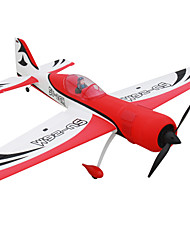 Dynam SU-26M 1:8 Brushless Electric 50KM/H RC Airplane 4ch 2.4G EPO Red Some RTF