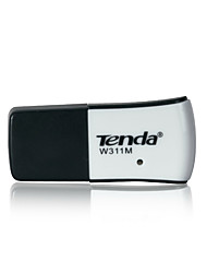 Tenda 10/100 / 1000Mbps mini-USB WiFi adaptador de rede placa de adaptador receptor placa wireless