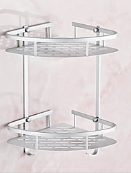 Wall Mounted Aluminum Bathroom Shelf