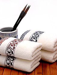 """1 Piece Full Cotton Bath Towel  55"""" by 27"""" Floral Pattern Super Soft Strong Water Absorption Capacity"""
