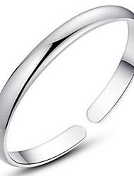 Silver Full-Star Adjustable Bangle Bracelet