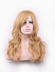 Blonde Lolita Harajuku Wig Curly Synthetic Wigs Pelucas Pelo Natural Manic Panic Cheap Anime Cosplay Wig Perruque Women