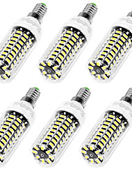 YouOKLight 6PCS High Luminous E27 E14 220V 80*SMD5733 LED Corn Bulb 9W Spotlight LED Lamp Candle Light