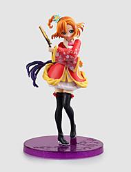 Aime la vie Honoka Kōsaka PVC 17CM Figures Anime Action Jouets modèle Doll Toy