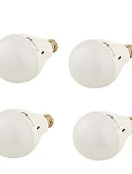 7W E26/E27 Lampadine globo LED A60(A19) 16 SMD 5730 550 lm Bianco caldo / Luce fredda Decorativo AC 220-240 V 4 pezzi