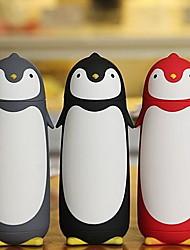 bonito pinguins de vidro