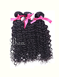 Indian Human Hair Weaving Kinky Curly 1PCS