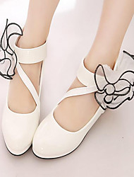 Sapatos de Dança(Preto / Vermelho / Branco) -Infantil-Não Personalizável-Latina