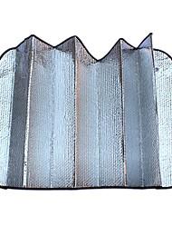 seitige Silberblase Sonne Isolierung Anti-UV-Autosonnenschutz 140 * 70cm