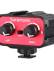 Saramonic SR-AX100 Universal Microphone Audio Adapter for DSLR Cameras & Camcorders Mic