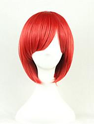 europe et aux États-Unis un bobo cosinus couleur perruque rousse 10 pouces haute température courte perruque cheveux raides de soie