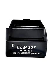 Black Mini Elm327 Bluetooth Obd2 V2.1 Auto Detector