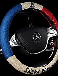 mot mètre ensembles de roues drapeau voiture de direction de quatre saisons générales voitures de lin imitation aux intérieurs de voiture