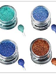 1 Bottle Nail Art Laser Colorful Glitter Shining Powder Manicure Makeup Decoration Nail Beauty L9-12