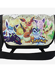 Inspired By Various Eevee Double Buckle Cross Body Bag