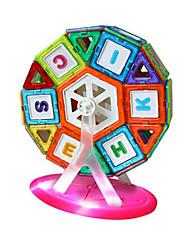 smart valley blocs de construction magnétique 70 morceaux de casse-tête magnétique jouets éducatifs au nom d'un enfant