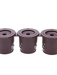 K-чашка кофе фильтры многоразовые для Keurig 3pack умна кофе в капсулах