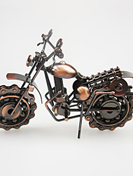 Large Iron Motorcycle Model Metal Crafts Ornaments Home Accessories Gifts