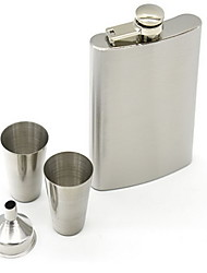Stainless Steel Flagon Wineglass Set