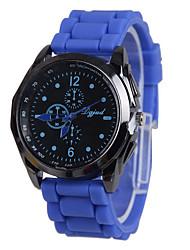 Women's Casual Fashion PU Band Quartz Watch