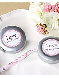 Recipient Gifts - 1Piece/Set, Love Beyond Measure Measuring Tape Keychain Baby Shower Favors, Bridal Shower Favors