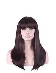 Natural Black Color Wigs for Europe and American Ladies Girl Gift Hot Sale