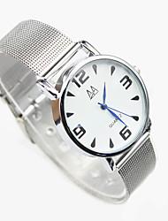 quartzo analógico-digital cinta liga mecânica casuais de alta qualidade relógio resistente ao choque cinto de malha masculina