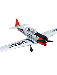 Dynam AT-6 Texan 1:8 Moteur Sans Balais 50KM/H Quadrirotor RC 4ch 2.4G EPO Red & White Assemblement requis