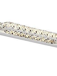 cristal 10w / led éclairage de salle de bains, / contemporain métallique intégrée moderne conduit
