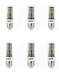 15W E14 G9 GU10 B22 E26/E27 Ampoules Maïs LED B 80 SMD 5733 1200 lm Blanc Chaud Blanc Froid Décorative AC 100-240 V 6 pièces