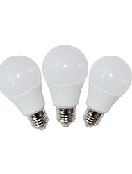 9 E26 Ampoules Globe LED A60(A19) 9 SMD 2835 810 lm Blanc Chaud / Blanc Froid Décorative AC 85-265 V 3 pièces
