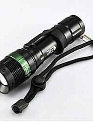 Lanternas LED - / Cree Q5 Ciclismo Foco Ajustável / Fácil de Transportar Outro 50 Lumens Bateria Ciclismo-Iluminação