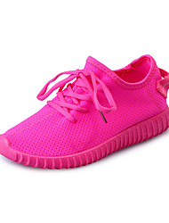 Women's Sneakers Spring / Summer / Fall / Winter Comfort / Round Toe Tulle Outdoor / Athletic / Casual Flat